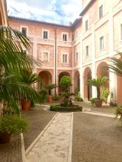 A pretty courtyard we stumbled across