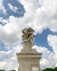 One of the columns at the Il Vittoriano Monument