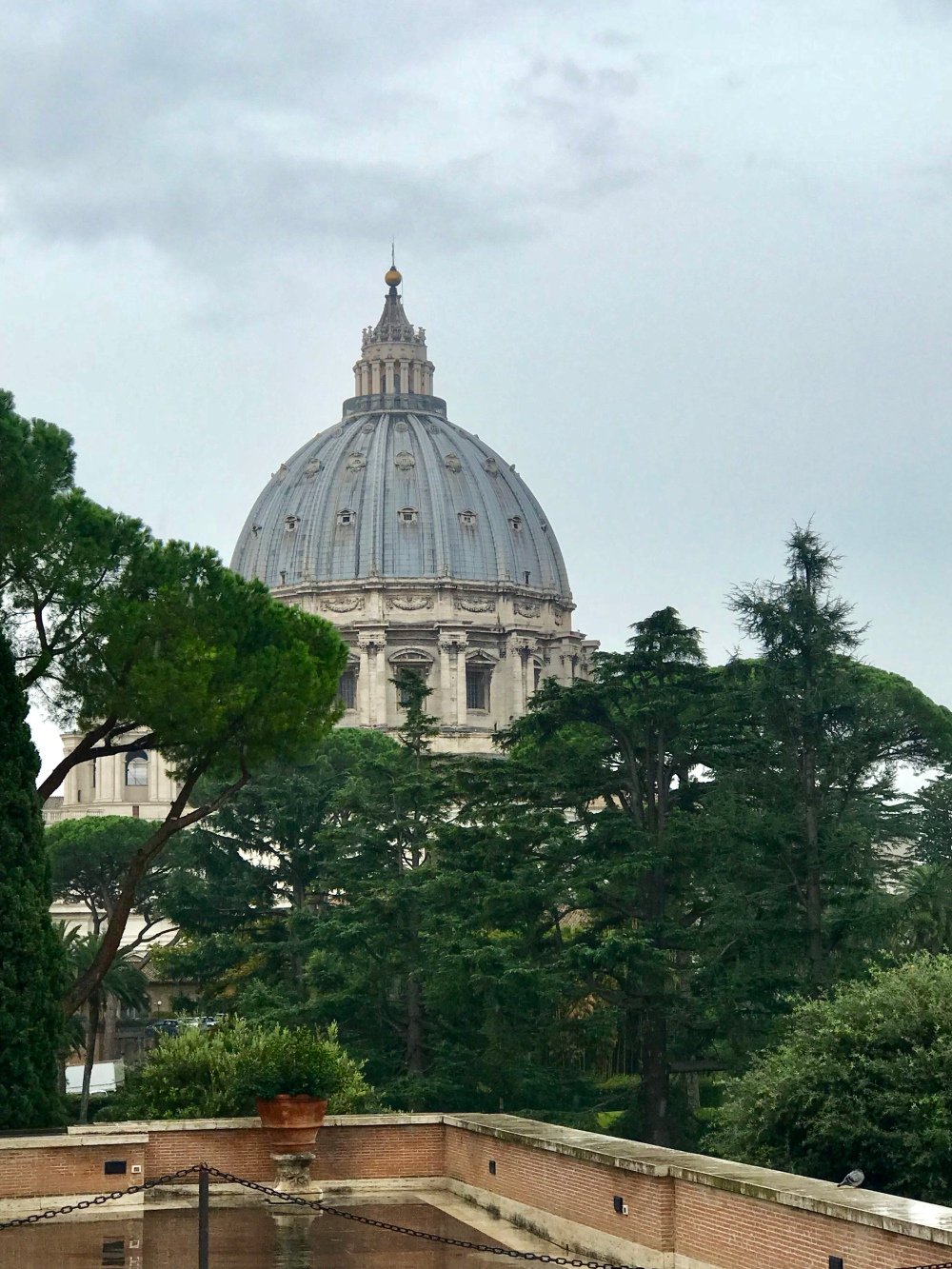 The Dome of St Peter's Basilica